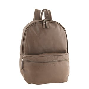 Sivohnedý kožený batoh Ore Diece Rovigo
