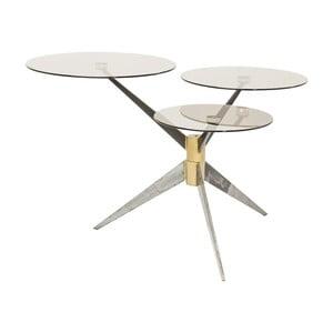 Odkladací stolík Kare Design Bonsai Tre Gunmetal