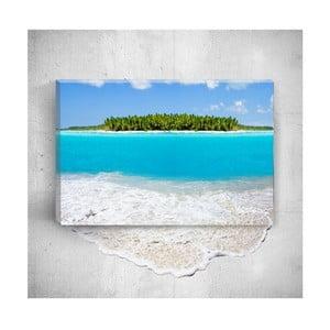 Nástenný 3D obraz Mosticx Beautiful Sea, 40×60 cm