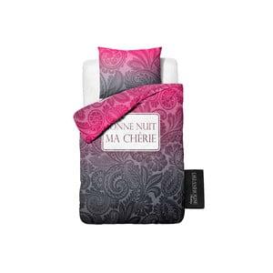 Ružové bavlnené obliečky Dreamhouse Ma Cherie 140 x 200 cm