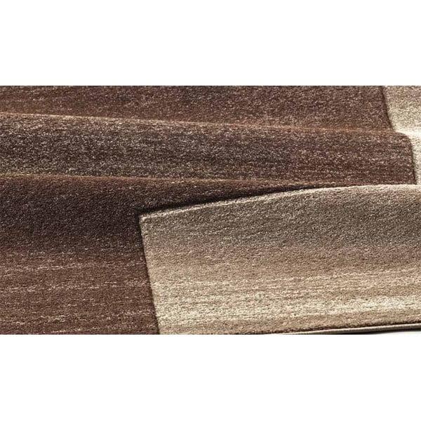 Koberec Webtappeti Intarsio Gradient Brown, 160×230cm