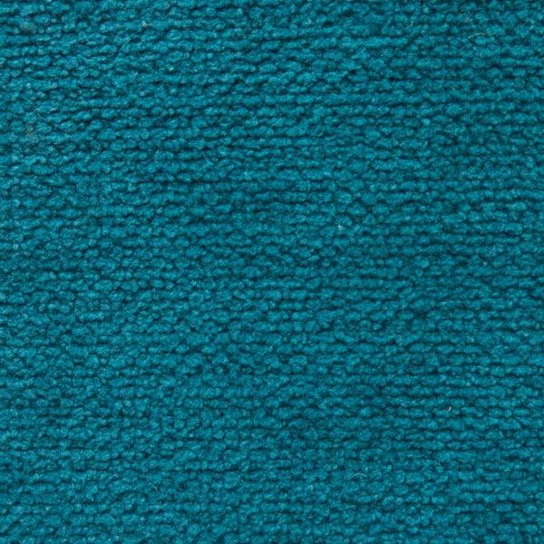 Tyrkysový sedací vankúšik s masážnymi loptičkami Linda Vrňáková Bloom, Ø 65 cm
