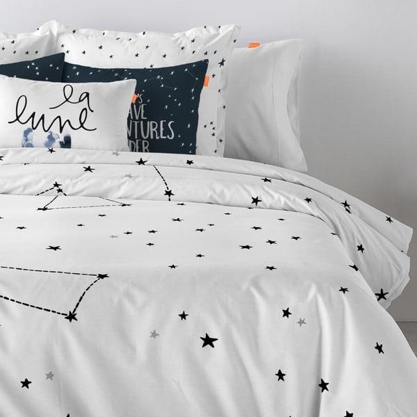 Bavlnená obliečka na paplón Blanc Constellation, 200×200cm