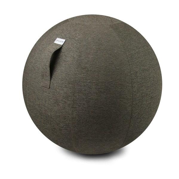 Sivobéžová lopta na sedenie VLUV Stov, Ø70-75cm
