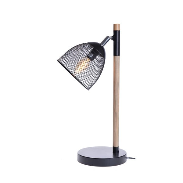 Stolová lampa Wire, čierna