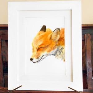 Plagát Mama Fox A4