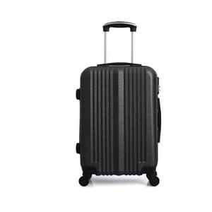 Čierny cestovný kufor na kolieskach Hero Maroko, 37l
