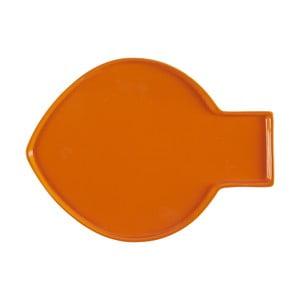 Oranžový tanier Athezza Caracas