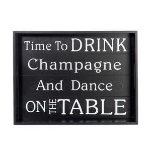 Podnos Time to Drink