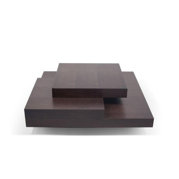 Konferenčný stolík v dekore tmavého dubového dreva TemaHome Slate