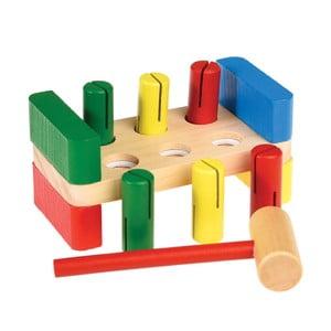 Detská drevená hra s kladivkom Rex London Hammer Bench