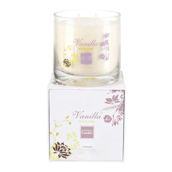 Aroma sviečka  Vanilla & Lime Medium, doba horenia 50 hodín