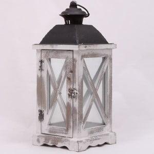 Drevený lampáš Old Cabin