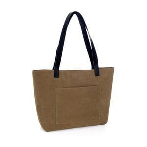 Olivovozelená kožená kabelka Woox Rostellum
