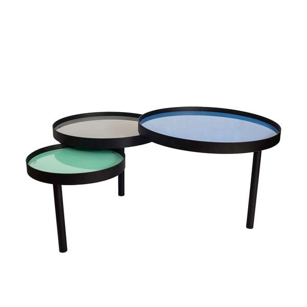 Trojitý odkladací stolík Triplex