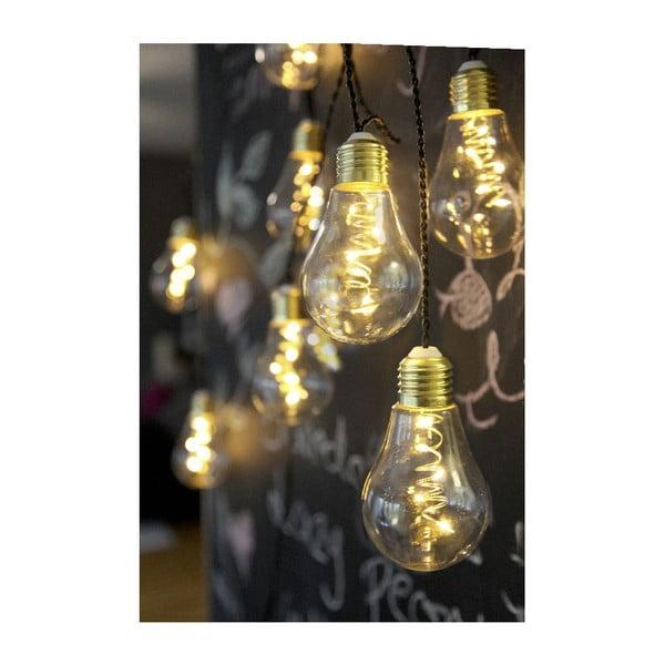Svetelná LED reťaz Best Season Bulbs, 10svetielok