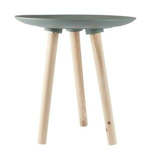 Odkládací stolek KJ Collection Natural Wood Green, 45 cm