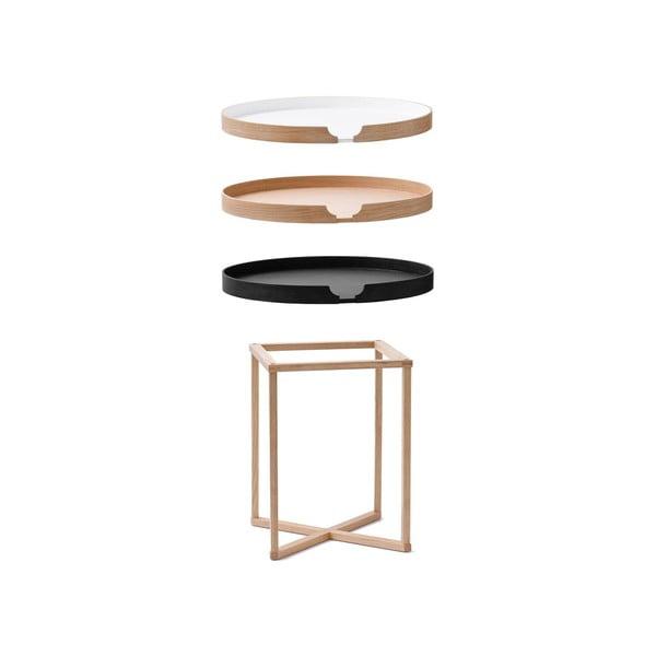 Biely odkladací stolík Wireworks Damieh, 37x45cm