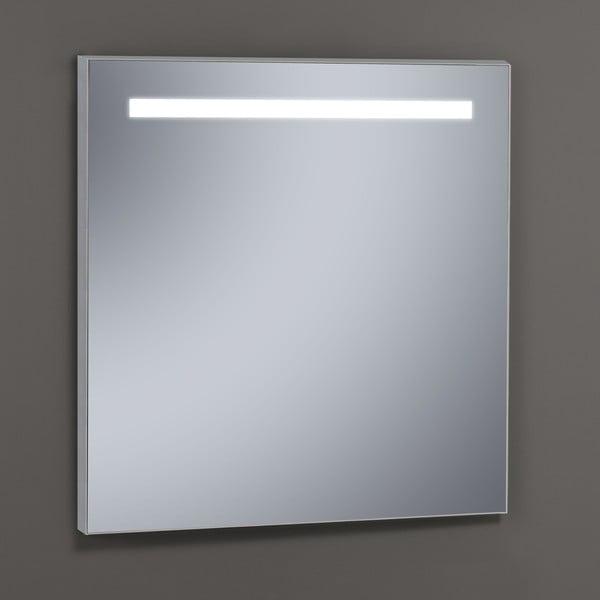 Zrkadlo s LED osvetlením Miroir, 60x80 cm
