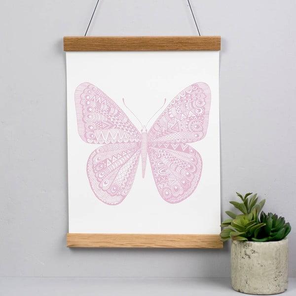Plagát Karin Åkesson Design Butterfly Pink, 30x40 cm