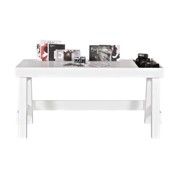 Pracovný stôl Grooving, biely