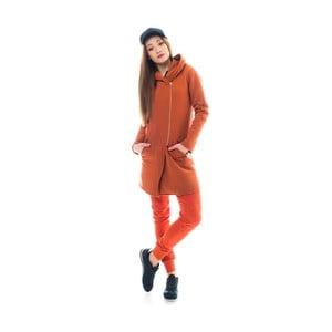 Oranžový kardigán Lull Loungewear Beggars, veľ. XL