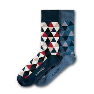 Sada 2 párov ponožiek Black&Parker London Harris Garden, veľ.37 - 43