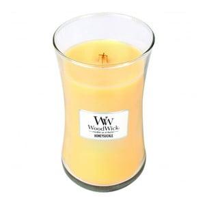Sviečka s vôňou zimozelu a jazmínu Woodwick, doba horenia 130 hodín