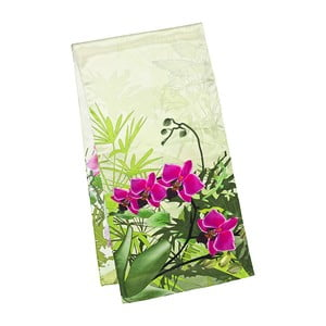 Šatka z hodvábneho saténu Von Lilienfeld Orchids