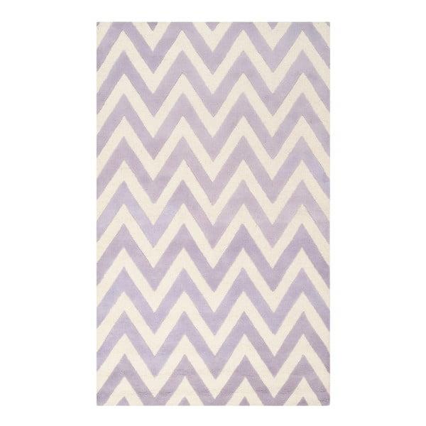 Vlnený koberec Stella Light Purple, 121x182 cm