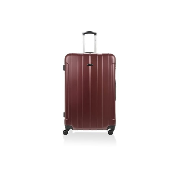 Sada 3 kufrov Roues Cadenas Bordeaux, 105 l/72 l/40 l
