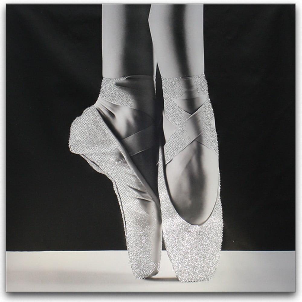 Obraz Styler Canvas Glam Ballet Dancer, 60 × 60 cm
