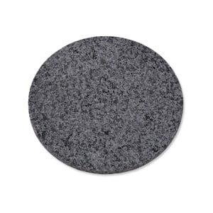 Žulový guľatý podnos Garden Trading Granite, ø 20 cm