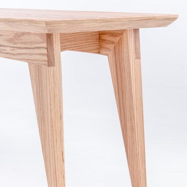Dubová lavica ST, dĺžka 160 cm