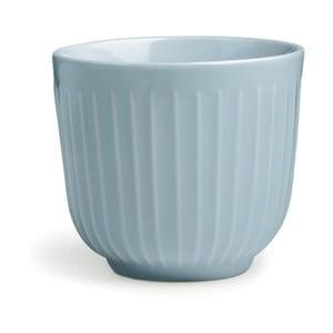 Svetlomodrý porcelánový hrnček Kähler Design Hammershoi, 200 ml