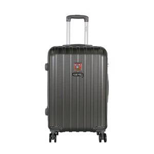 Tmavosivý cestovný kufor LULU CASTAGNETTE Edge, 71 l