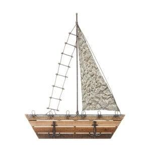 Vešiak v tvare plachetnice Ixia Seaside