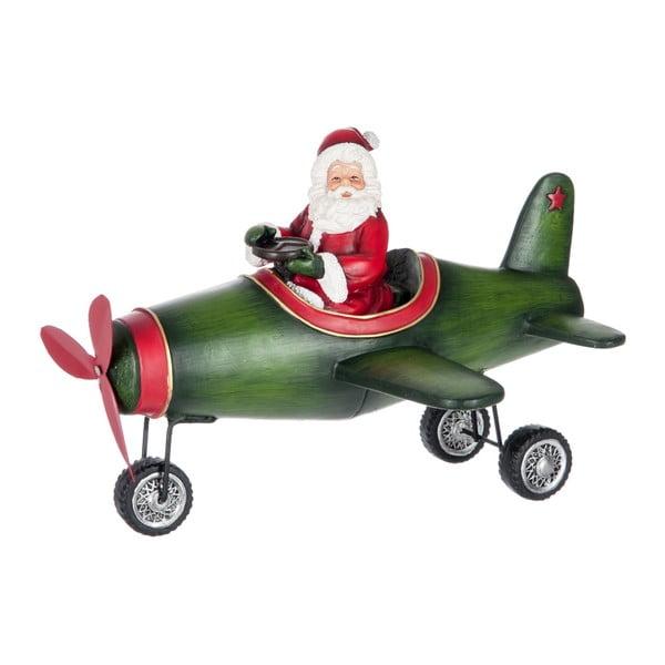 Dekorácia Christmas Plane