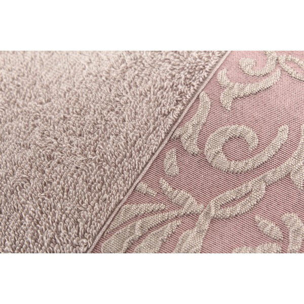 Sada 2 hnedých uterákov Burumcuk, 50 x 90 cm