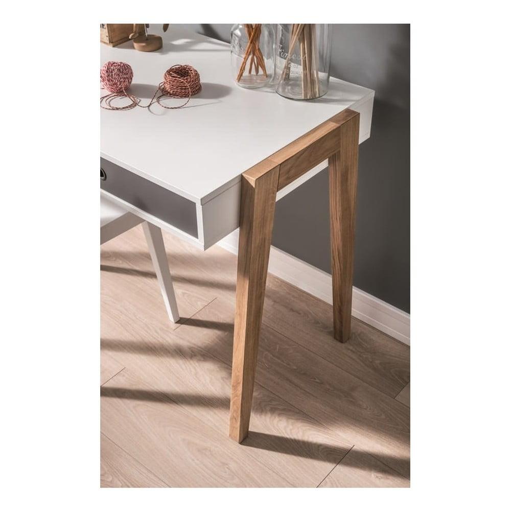 Bielo-sivý pracovný stôl Vox Concept Dochádza vám inšpirácia pri zariaďovaní detskej či tínedžerskej izby?  Každý kúsok obsahuje zaujímavé farebné detaily a na vás je už len sa rozhodnúť, či všetko zladíte, alebo budete kombinovať.