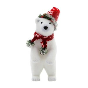 Dekorácia Polar Bear, 35 cm