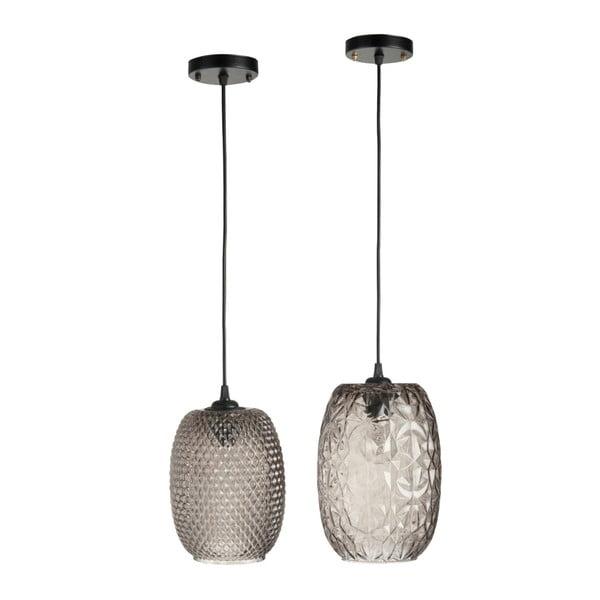 Sada dvoch stropných svetiel Aubergine