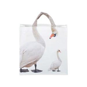 Nákupná taška s potlačou labutí Ego Dekor Nature