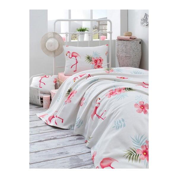 Bavlnená prikrývka cez posteľ Muniro Cassie, 160×235 cm