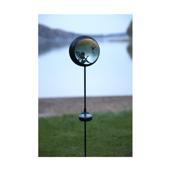 Vonkajšie solárne LED svietidlo Best Season Fairytale Grey
