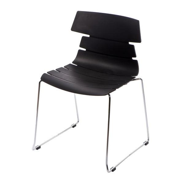 Sada 2 stoličiek D2 Techno, čierne