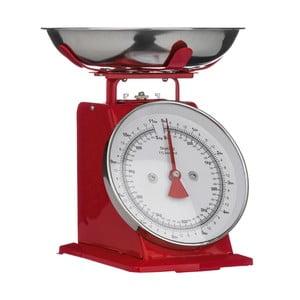 Červené kuchynské váhy Premier Housewares, 22 x 26 cm