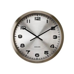 Strieborné hodiny Present Time Maxie