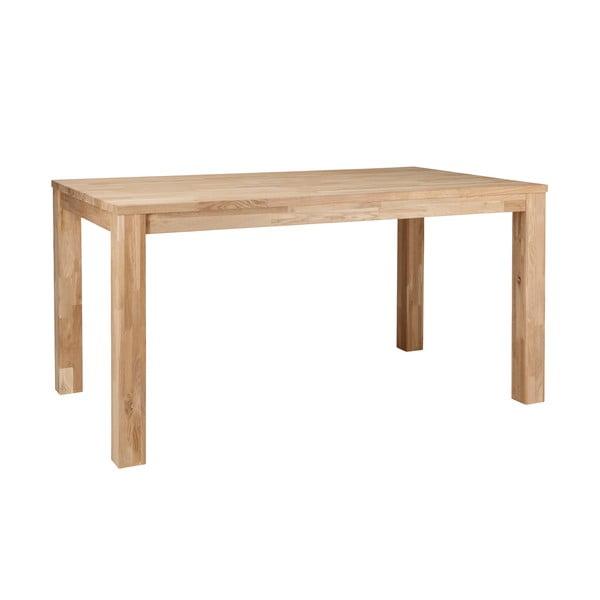 Drevený jedálenský stôl DeEekhoorn Largo Untreated, 180x85cm