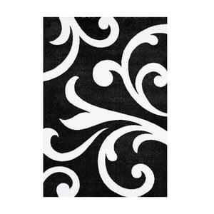 Čierny koberec Tomasucci Damasko, 140 x 190 cm
